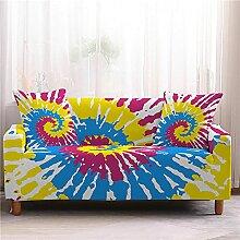 Sofabezug Braune Orange Blume Sofa überzug