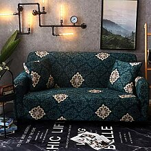 Sofabezug Elastisch Ecksofa Floral Bedruckte Sofa