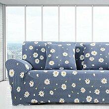 Sofabezug Elastische Sofa Slipcovers Günstige Tuch gedruckte Kunst Spandex Loveseat Sofa Couch Covers Home Multifunktions Kissen , 3 , 2 seater:145-185cm
