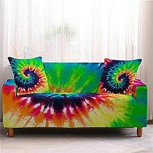 Sofabezug Fuchsiablauer Druck Sofa überzug