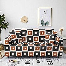 Sofabezug Fuchsiaroter Druck Sofa überzug Stretch