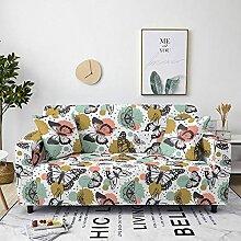 Sofabezug Gelbe Bunte Kuh Sofa überzug Stretch