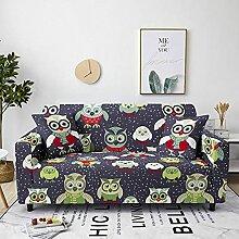Sofabezug Grün Weiß Gelb Sofa überzug Stretch