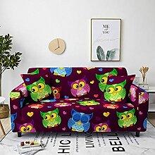 Sofabezug Grüner Lila Regenbogen Sofa überzug