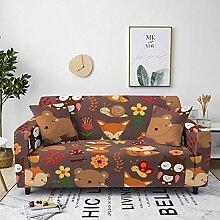 Sofabezug Grüner Oranger Marmor Sofa überzug