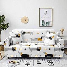 Sofabezug Grüner Tierpanda Sofa überzug Stretch