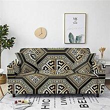 Sofabezug Grüngelber Druck Sofa überzug Stretch