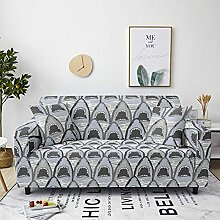 Sofabezug Marineblaugrün Sofa überzug Stretch