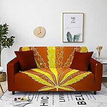 Sofabezug Orangefarbener Basketball Sofa überzug