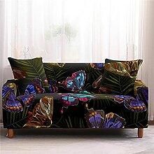 Sofabezug Pink Teal Marmor Sofa überzug Stretch
