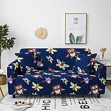 Sofabezug Rose Rot Gelb Sofa überzug Stretch