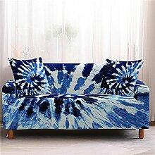 Sofabezug Rosenrot Retro Sofa überzug Stretch