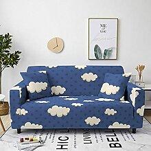 Sofabezug Rosenroter Marmor Sofa überzug Stretch
