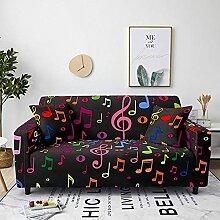 Sofabezug Rostroter Druck Sofa überzug Stretch