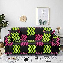 Sofabezug Schwarz Fluoreszierendes Grün Sofa