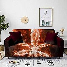 Sofabezug Schwarze Weiße Blume Sofa überzug