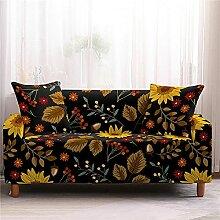 Sofabezug,Stretch Sofabezüge Modern Daisy Flower