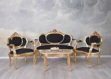 Sofagarnitur Sitzgruppe Barock Sofa Sessel