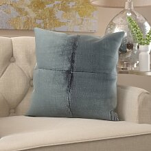 Sofakissen Argonaut Ebern Designs Farbe: Grau