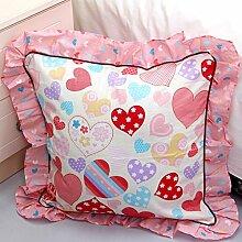 Sofakissen Bett-Kissen-Pad Home Fashion Kissen-N 50x50cm(20x20inch)VersionB