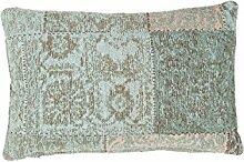 Sofakissen Kopfkissen Dekokissen Couch- oder Palettenkissen Lounge Rückenkissen Design Symphony Pillow 160 Türkis Chenille 40x60cm | Teppiche günstig online kaufen