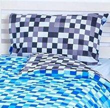 Sofakissen ModernMoments Farbe: Blau/Grau