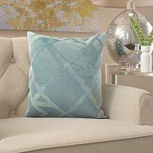 Sofakissen Tangram Winkler Farbe: Grau