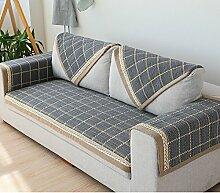 Sofakissen/Vier Jahreszeiten Spalier Gartensofa Handtuch/[Rückenlehne Handtuch]/ arm Handtuch/ Sofa-C 90x240cm(35x94inch)