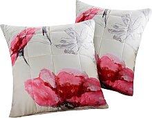 Sofaläufer Berry, rosa (2-Sitzer-Sofa 181/116 cm)