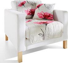 Sofaläufer Berry, rosa (Sessel mit Armlehnen 181/58 cm)