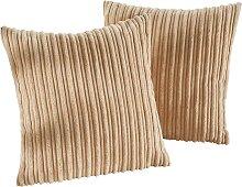 Sofaläufer Cord, beige (2-Sitzer-Sofa 150/120 cm)