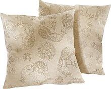 Sofaläufer Elefant, beige (2-Sitzer-Sofa 150/120 cm)