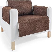 Sofaläufer Knochen, braun (Sofaläufer Sessel