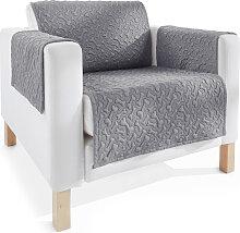 Sofaläufer Knochen, grau (Sofaläufer Sessel