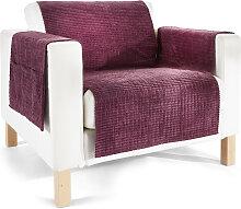 Sofaläufer  Leyla, lila (3-Sitzer-Sofa 181/280 cm)