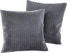 Sofaläufer Lola, grau (2-Sitzer-Sofa 120/150 cm)