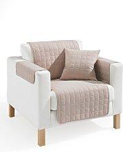 Sofaläufer Nina, beige (Sessel mit Armlehnen 181/166 cm)