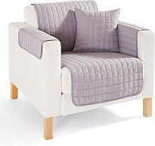 Sofaläufer Nina, grau (2-Sitzer-Sofa 181/224 cm)