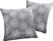 Sofaläufer Pusteblume, grau (Sessel 150/50 cm)