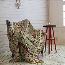 Sofaüberwurf, dekoratives Decken-Sofatuch im