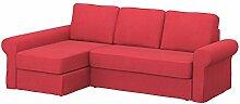 Soferia - Bezug fur IKEA BACKABRO 2er-Sofa mit