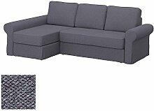 Soferia Bezug fur IKEA BACKABRO 2er-Sofa mit