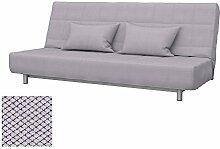 Soferia Bezug fur IKEA BEDDINGE 3-er Bettsofa,