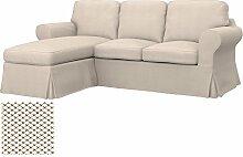 Soferia Bezug fur IKEA EKTORP 2er-Sofa mit