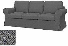 Soferia Bezug fur IKEA EKTORP PIXBO 3er-Bettsofa,