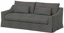 Soferia Bezug fur IKEA FARLOV 3er-Sofa, Stoff