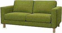 Soferia - Bezug fur IKEA KARLSTAD 2er-Sofa,