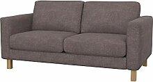Soferia Bezug fur IKEA KARLSTAD 2er-Sofa, Stoff