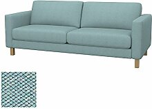 Soferia Bezug fur IKEA KARLSTAD 3er-Bettsofa,