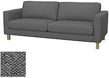 Soferia - Bezug fur IKEA KARLSTAD 3er-Sofa, Nordic